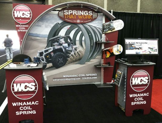 booth at gie expo